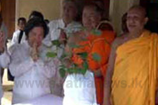 Sapling of Sri Maha Bo Tree gifted to Thailand | Siyatha