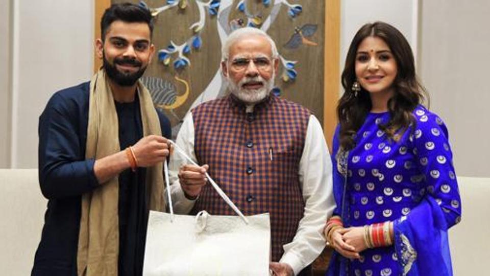 Anushka Sharma congratulates PM Narendra Modi on emerging victorious in the  2019 Lok Sabha elections | Siyatha News - English